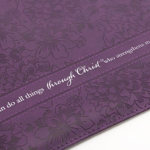 "Accessories - Scripture Gifts - Tablet Case Cover (""I Can Do All Things Through Christ"")"