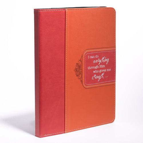 Scripture Gifts - Tablet/IPAD Case  Cover (I Can Do All Things Through Him) - Love the Lord Inc