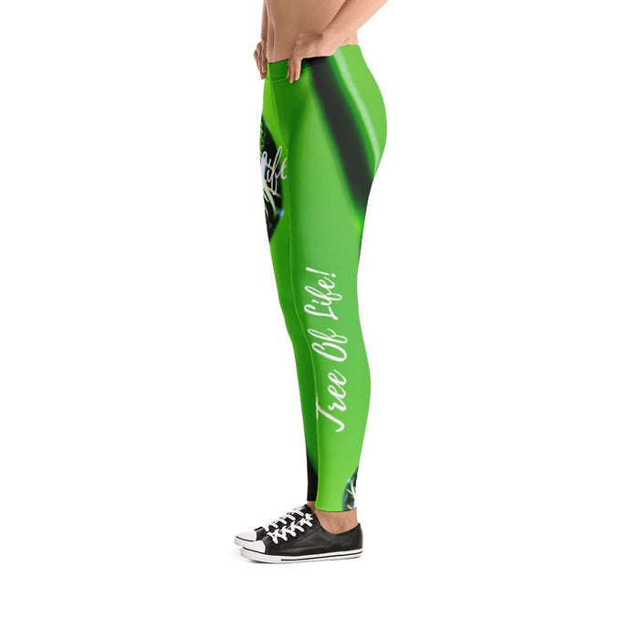 Scripture Leggings - Tree, Book, Water of Life - Love the Lord Inc