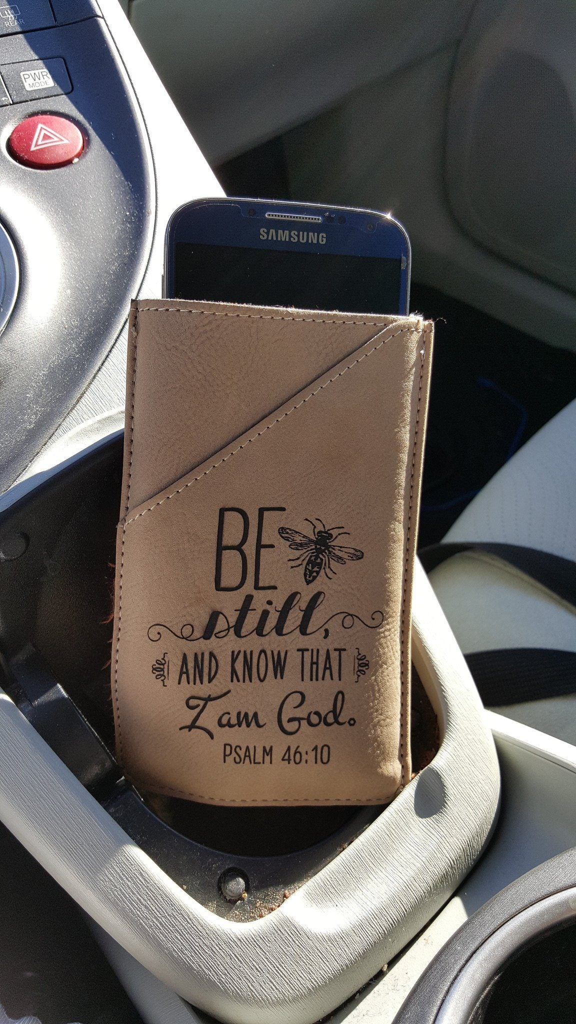 "Accessories - Smartphone Case - ""Worry Ends Where Faith Begins"""
