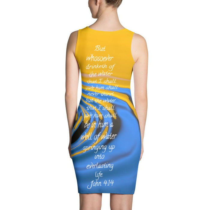 Sublimation Cut & Sew Dress - Water and Everlasting Life - Love the Lord Inc
