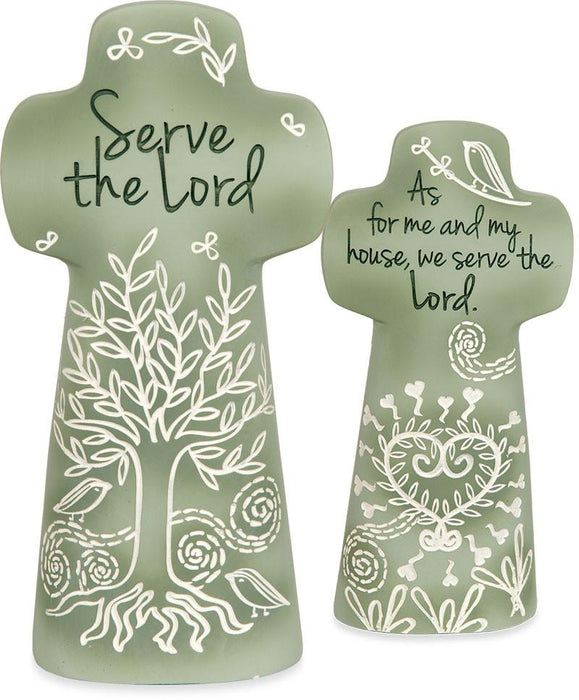 Cross - Serve The Lord - Love the Lord Inc