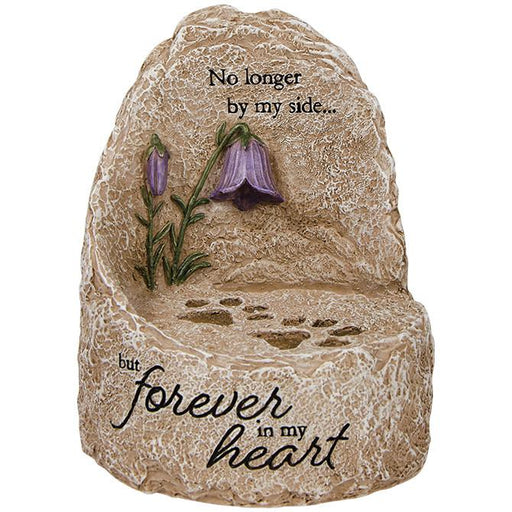 "Memory Gift - Our Heart"" Heavenly Lights LED Message Stone - Love the Lord Inc"