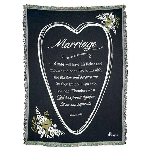 "Throws - Marriage ""Two Will Become One"" - Love the Lord Inc"