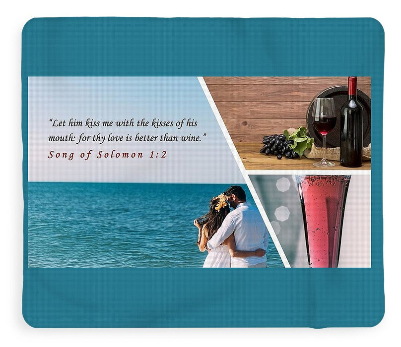 Better Than Wine - Blanket - Love the Lord Inc