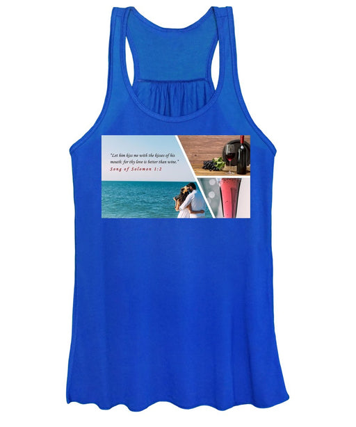 Better Than Wine - Women's Tank Top - Love the Lord Inc