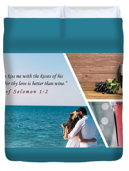 Better Than Wine - Duvet Cover - Love the Lord Inc