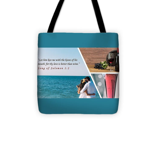Better Than Wine - Tote Bag - Love the Lord Inc
