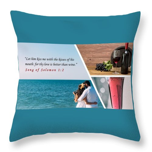 Better Than Wine - Throw Pillow - Love the Lord Inc