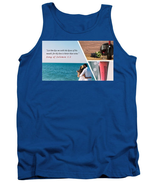 Better Than Wine - Tank Top - Love the Lord Inc