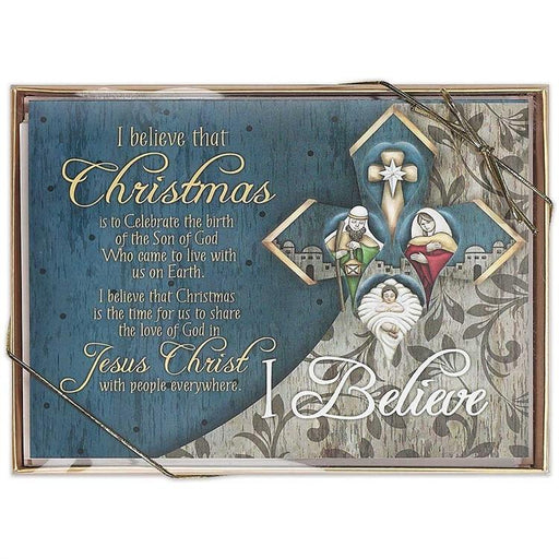 Christmas Card - I Believe That Christmas Is - Love the Lord Inc