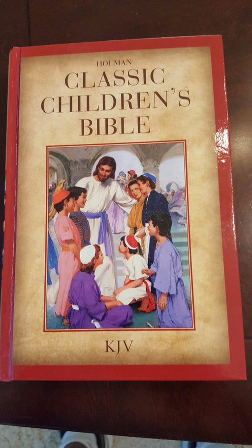 KJV Holman Classic Children's Bible, Printed Hardcover - Love the Lord Inc