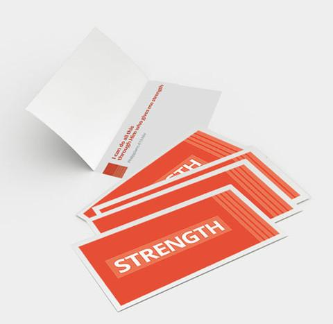 Scripture Gifts - Individual Encouragement Cards (5 scripture themes/25 cards total) - Love the Lord Inc