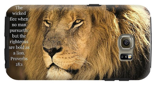 Bold As A Lion - Phone Case - Love the Lord Inc