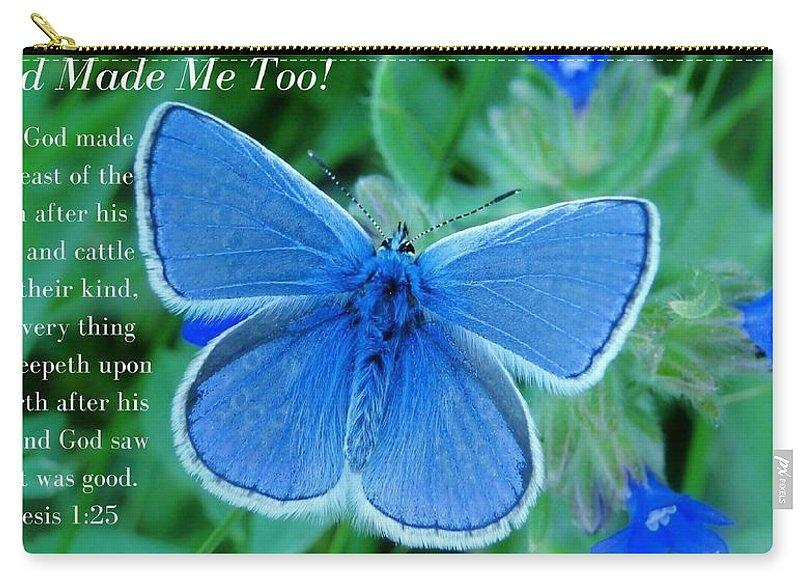 God Made Me Too Bf2 - Carry-All Pouch - Love the Lord Inc