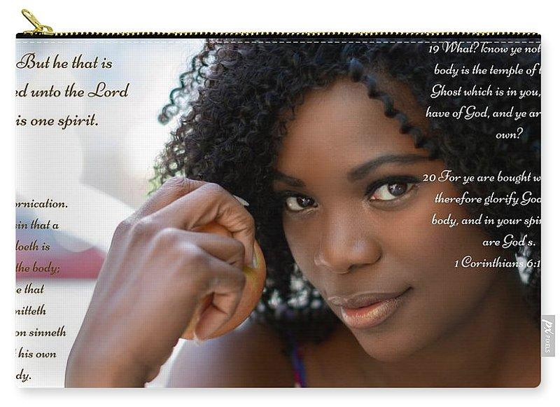 Your Body Is Not Your Own - Carry-All Pouch - Love the Lord Inc