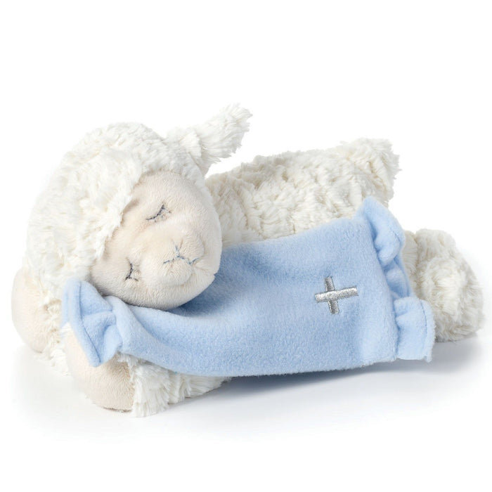 Baby Teddy Bear - Singing Now Lay Me Down To Sleep (Blue Lamb) - Love the Lord Inc