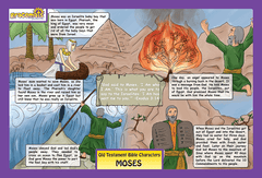 Childrens - Christian Childrens Placemat - The Story Of Moses