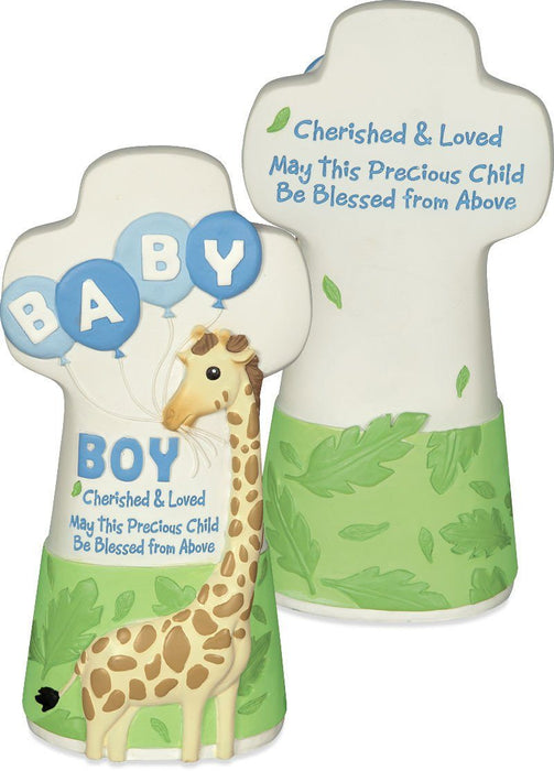 Cross - Cherished Blessings Boy Cross (Baby) - Love the Lord Inc