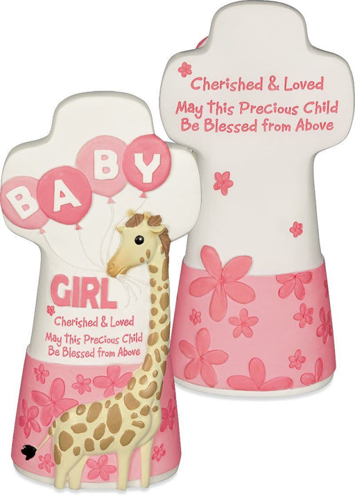 Cross - Cherished Blessings Girl Cross (Baby) - Love the Lord Inc