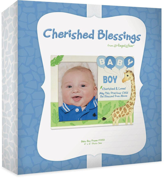 Photo Frame - Baby Boy (Christian) - Love the Lord Inc