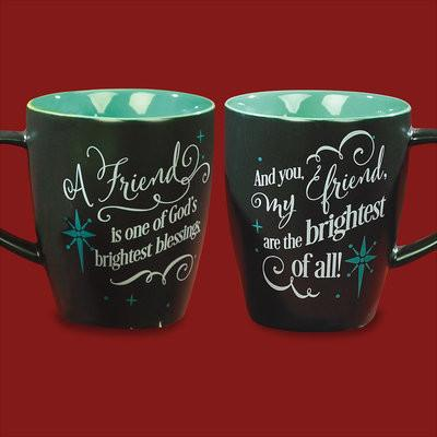 Christian Mug - A Friend is one of God's Blessings - Love the Lord Inc