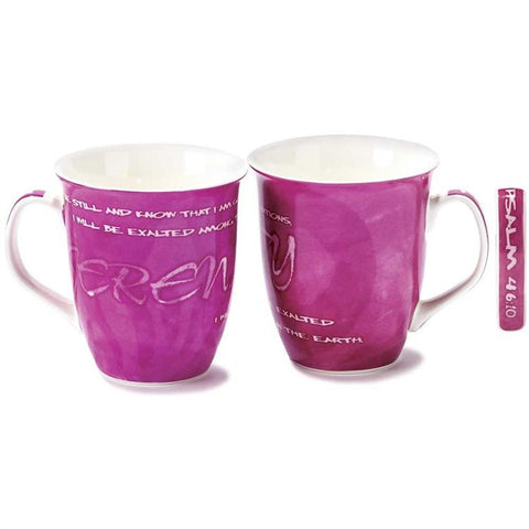 "Cup/Mug - Christian Mug - ""Be Still And Know That I Am God"""