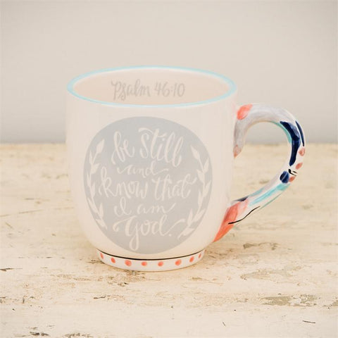 Cup/Mug - Christian Mug - Be Still And Know That I Am God