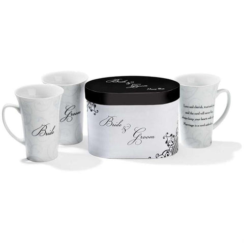 Cup/Mug - Christian Mug - Bride And Groom Set In Gift Box