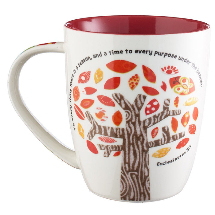 "Christian Mug - ""For Everything There is a Season"" - Love the Lord Inc"