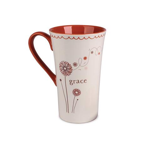Christian Mug - Grace Latte Mug - Love the Lord Inc