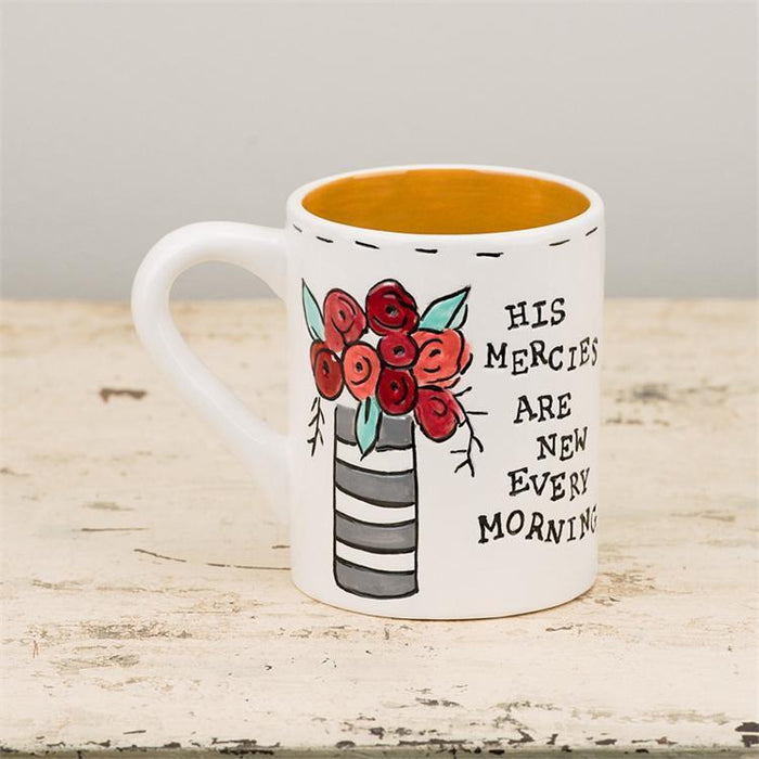 Christian Mug - His Mercies Are New Every Morning - Love the Lord Inc