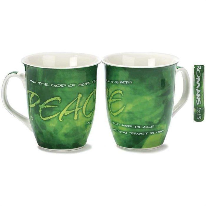 Christian Mug - Peace - Love the Lord Inc