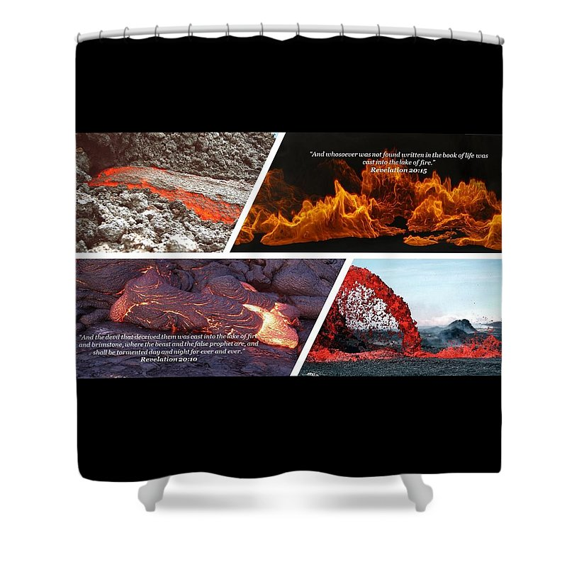 Deceived and Fire - Shower Curtain - Love the Lord Inc