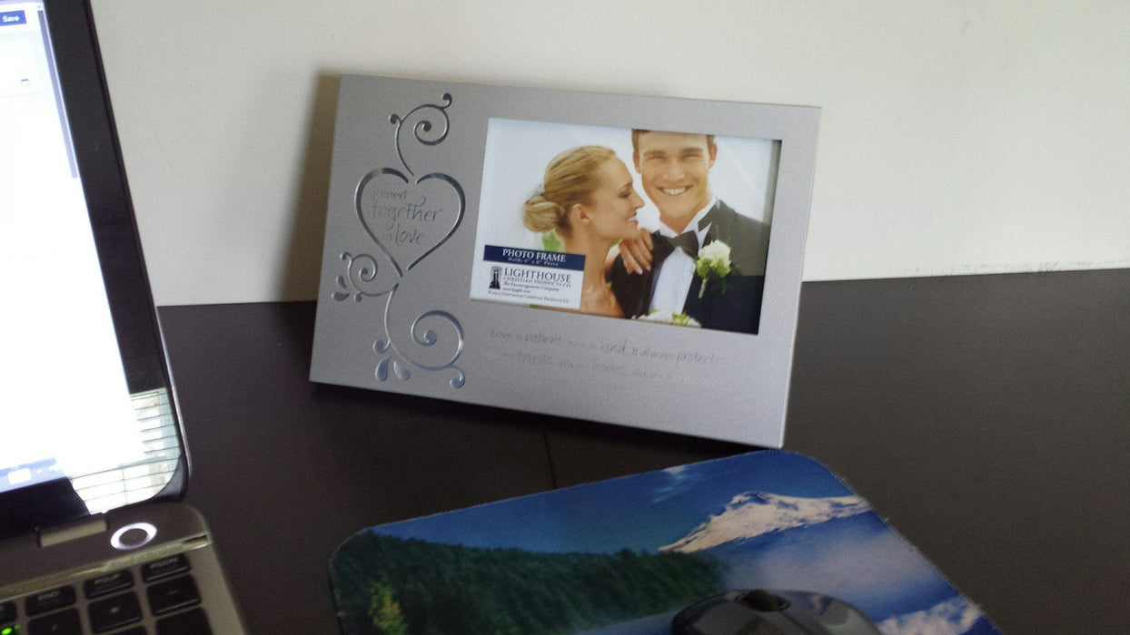Christian Picture Frame - Joined Together In Love - Love the Lord Inc