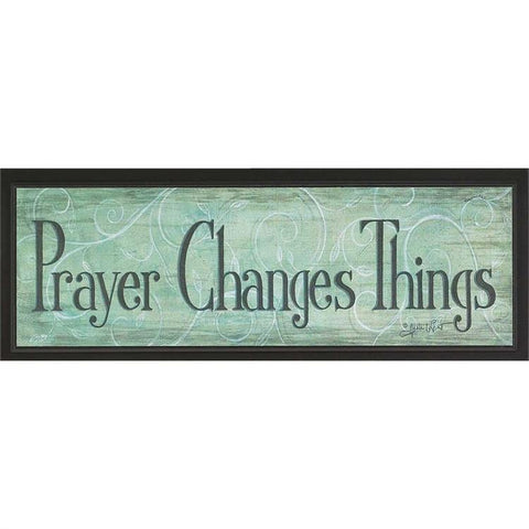Desk/Plaque - Christian Plaque - Prayer Changes Everything