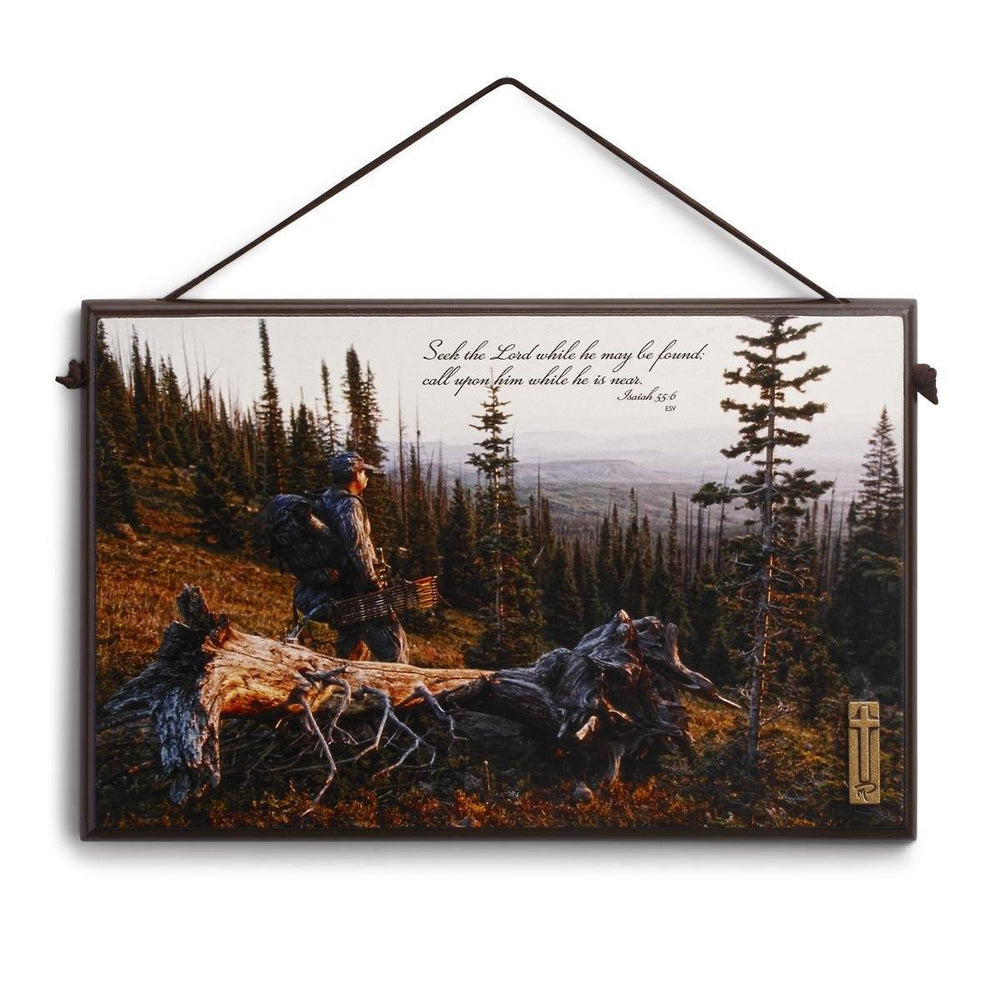 Christian Wall Art - Christian Sportsman (Bow Hunter) - Love the Lord Inc