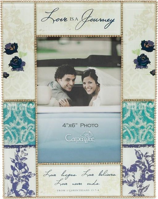 Photo Frame (Christian) - Love Is A Journey - Love the Lord Inc