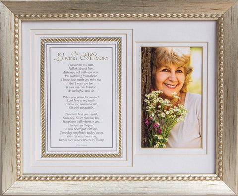 Desk/Plaque - Photo Frame - In Loving Memory (Framed)