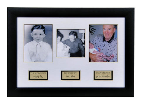 Desk/Plaque - Photo Frame - The Life Of Grandpa