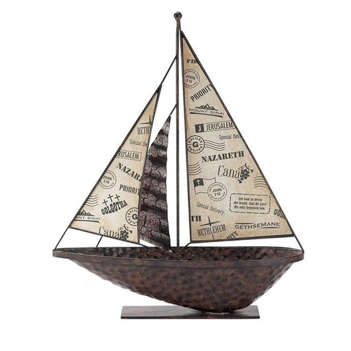 Sailboat - The Different Places of Jesus - Love the Lord Inc