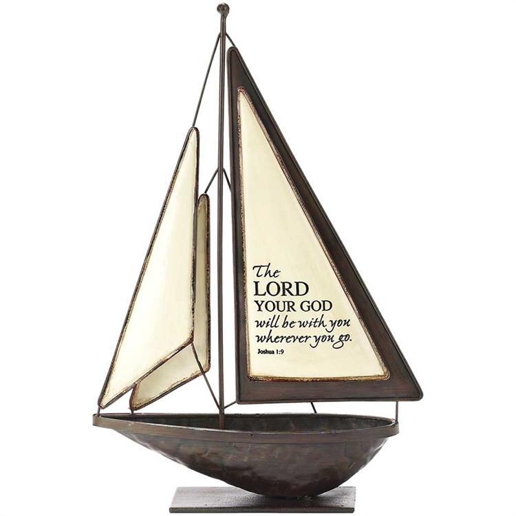 "Sailboat - ""The Lord Will Be With You Wherever You Go"" - Love the Lord Inc"