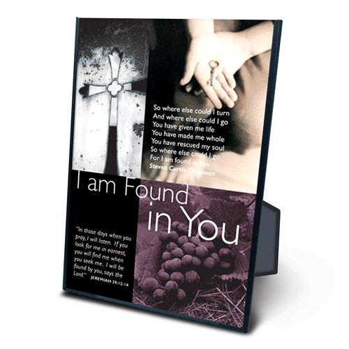 Scripture Gift - I Am Found In You - Love the Lord Inc