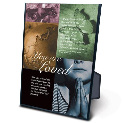 "Scripture Gift - You are Loved ""For God So Loved the World"" - Love the Lord Inc"
