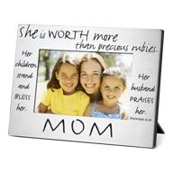 Scripture Gifts - Mom (Prov 31) Photo Frame - Love the Lord Inc