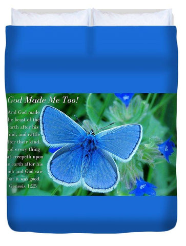 Duvet Cover - God Made Me Too Bf2 - Duvet Cover