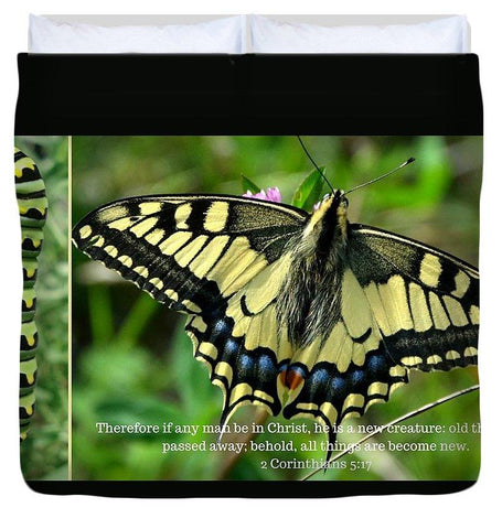 Duvet Cover - New Creation In Christ - Duvet Cover