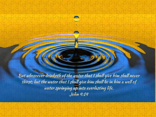 Everlasting Water Of Life  - Puzzle - Love the Lord Inc