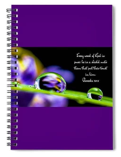 Every Word_I2_lovethelordinc - Spiral Notebook - Love the Lord Inc
