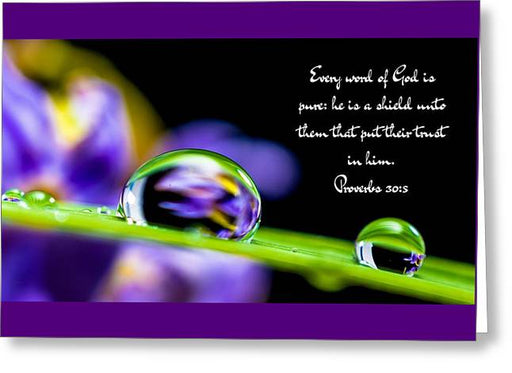 Every Word_i2_lovethelordinc - Greeting Card - Love the Lord Inc